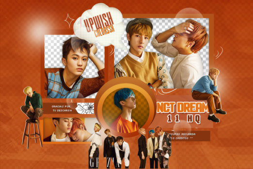 NCT DREAM PNG PACK #4/Grazia by UpWishColorssx