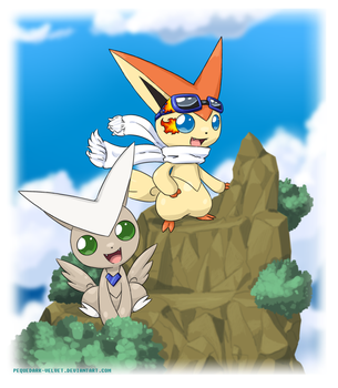Commission .:On the top:. by PEQUEDARK-VELVET