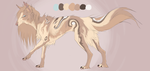 Coffee wolf adopt ( open ) by Adoptions-Studio