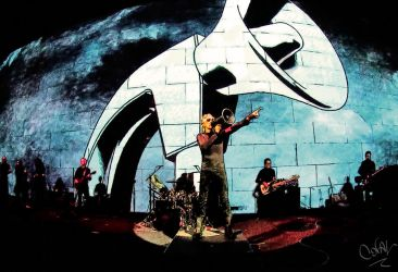 pink floyd / roger waters by CORALC