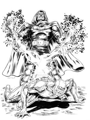 Doctor Doom - Silver Surfer by shaotemp