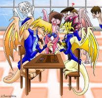 Yugioh Dragons -'I win again' by Seeraphine