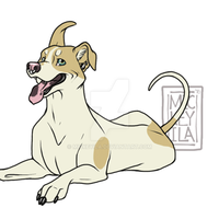 Animated Mutt by Mickeyila