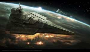 Victory II-class Star Destroyer by Madboni