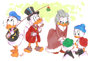 KISS THE GUUURL - Uncle Scrooge comics by Koizumi-Marichan