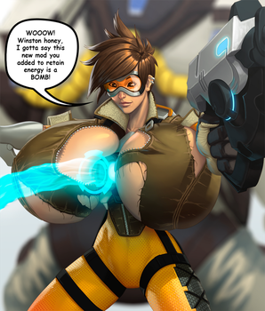 Tracer Overwatch by mangrowing