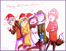 Merry Christmas for everyone~ by Lillka