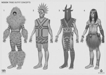 Nogon - Outfit Concepts by DavidHakobian