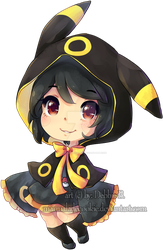Umbreon by Marmaladecookie
