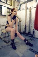 Knock Out-Girl Works up a Sweat - Teaser 4 by Gingersnap-Pixie