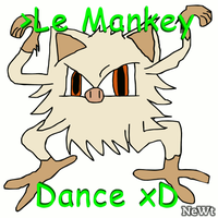 le mankey dance xD by NeonWabbit