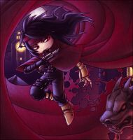 Vincent Valentine SD by Tiamate