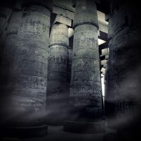 Precint of Amun-Re II by lostknightkg