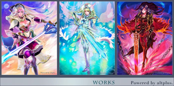 works-2012 Oct by IC-Kaname