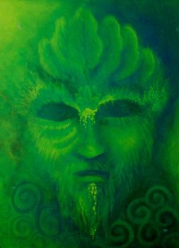 Green Man by obilabilon