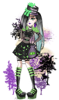 Ever After High OC - Adelheit Gefider by Fleurabelle