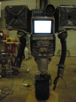 fallout houston SHorti securitron by drnightshade