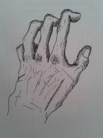 Mano/Hand by SHADOWofINTENT34