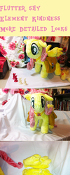 Fluttershy Element of Kindness more detailed looks by Kardien