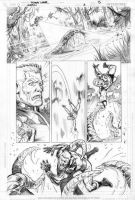 Legion Issue 3 p.13 by Cinar