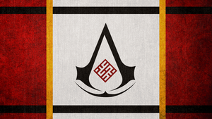 Assassin's Creed I: Masyaf Flag by okiir