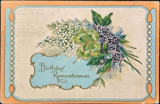 Birthday Remembrances by Yesterdays-Paper