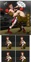 Punch-Out!!- Fight of the century, folks. by ImagenAshyun