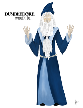 Dumbledore Wants In by pirate-LD