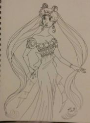 wip princesses Serenity by Bella-Who-1