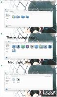Theme Iconpackager Mac Light Blue by TutosPixi