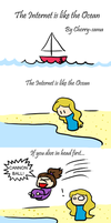 The Internet is like the Ocean by Cherry-sama