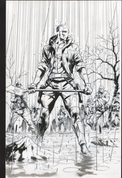 Red Hood raw scan. How to annoy your colorist. by RyanWinn
