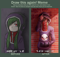 Draw This Again Meme (Kido Tsubomi) by MythicalNine