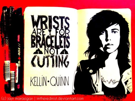 Kellin Quinn by imtheredmist