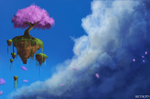 Island in the Sky by whaate