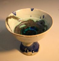 Blue and White Chalice by ghostgray