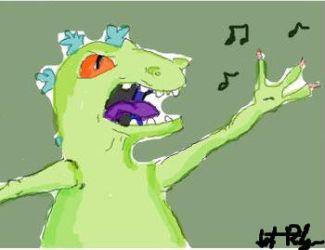 Reptar by questionette