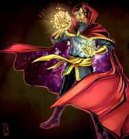 Dormammu shall not pass by Larbesta