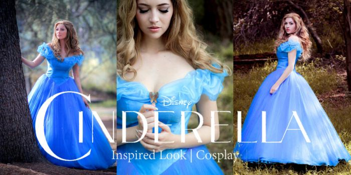 Cinderella 2015 Cosplay by JoceyDraws