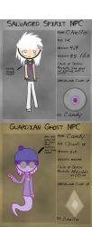 My Guardian Ghost Thingy By CatManiac8x by BeriAndKaiden
