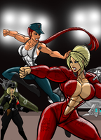 Sparring by johnnyharadrim