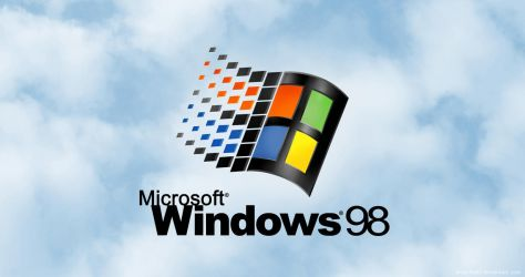Windows 98 Remastered Startup Screen- 4K Wallpaper by Archi-Techi