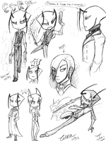 Comm--Cory Sketch Page by Zerna