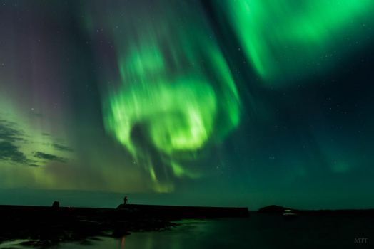 Northern Lights ... 3 by MonikaTherese