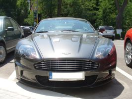 Aston Martin front by Dj-Steaua