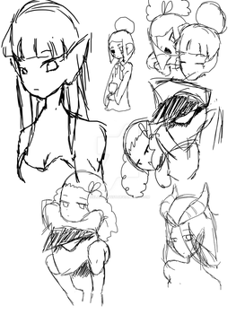 Sketches Of Some Of My Watchers