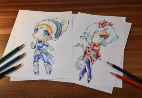 League Moon Ladies by Lighane