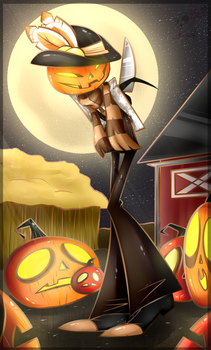 Lost Mind Halloween 2017: Sneaky Rusty by BloodyPink-M