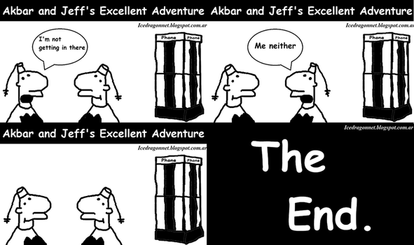 Akbar and Jeff's Excellent Adventure by SierratheLurker
