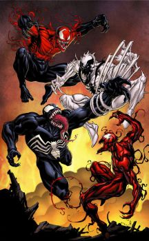 SYMBIOTES!! by daves2012